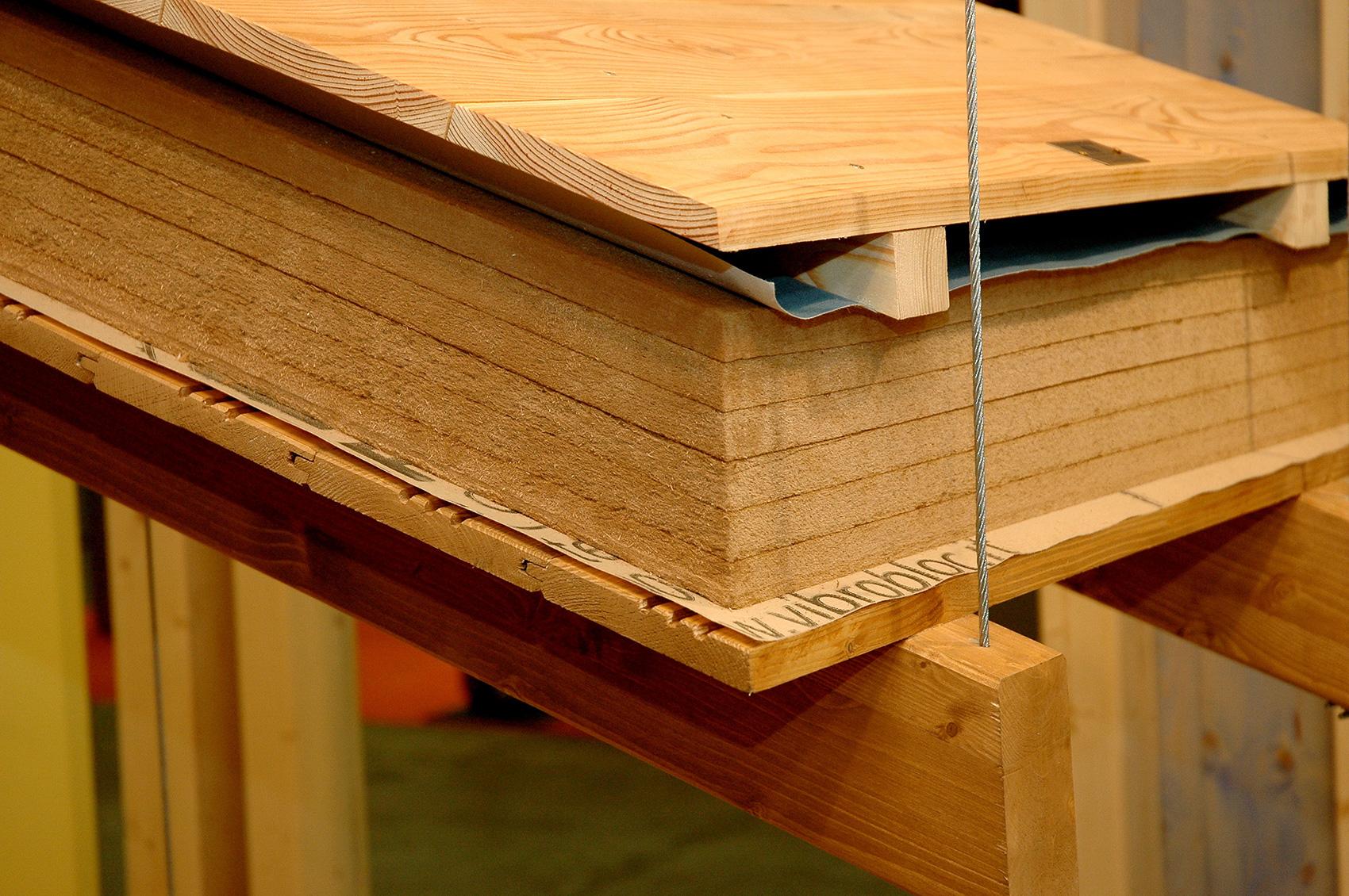 Copertura In Legno Isolata : Habita tetto