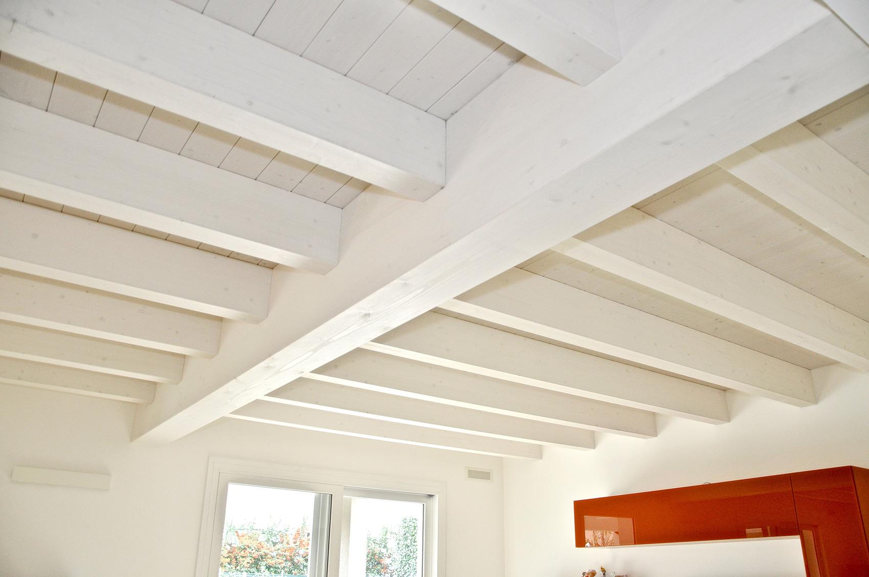 Copertura In Legno Bianco : Habita tetto